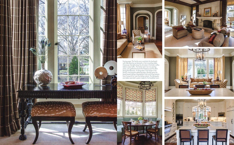 © Alcott Interiors - Carolyn Kendall -- Suburban Sophisticate