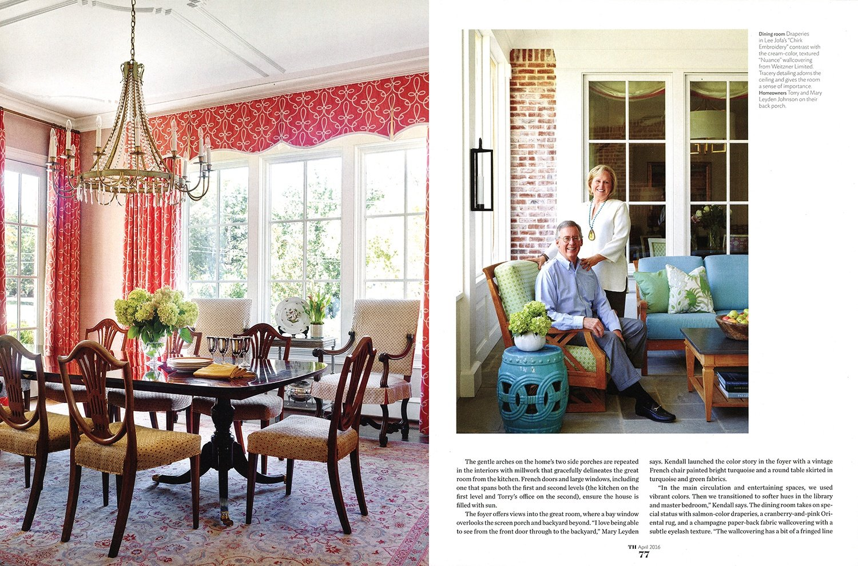 © Alcott Interiors - Carolyn Kendall -- 2016-04 Traditional Home