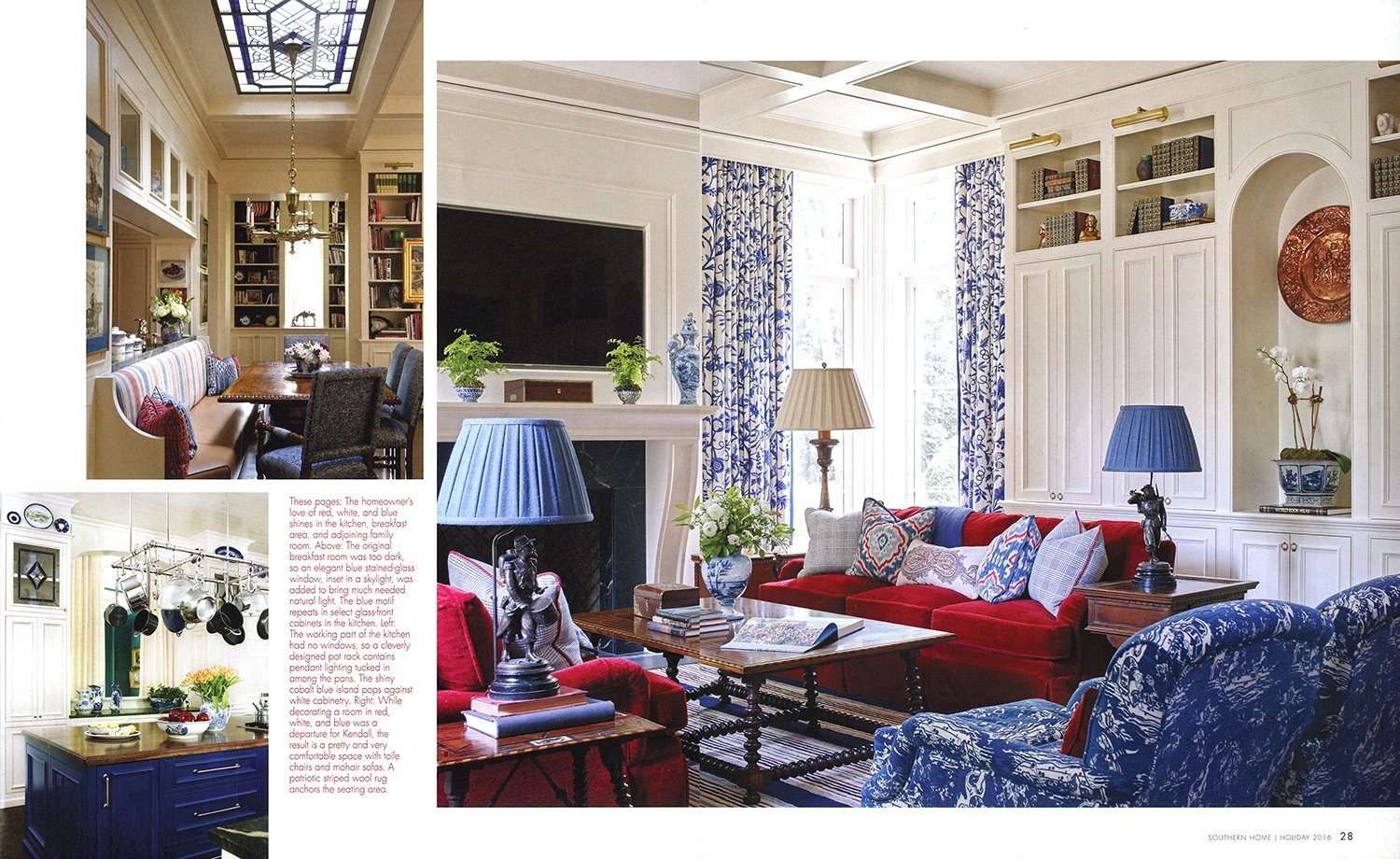 © Alcott Interiors - Carolyn Kendall -- 2016-12 Southern Home