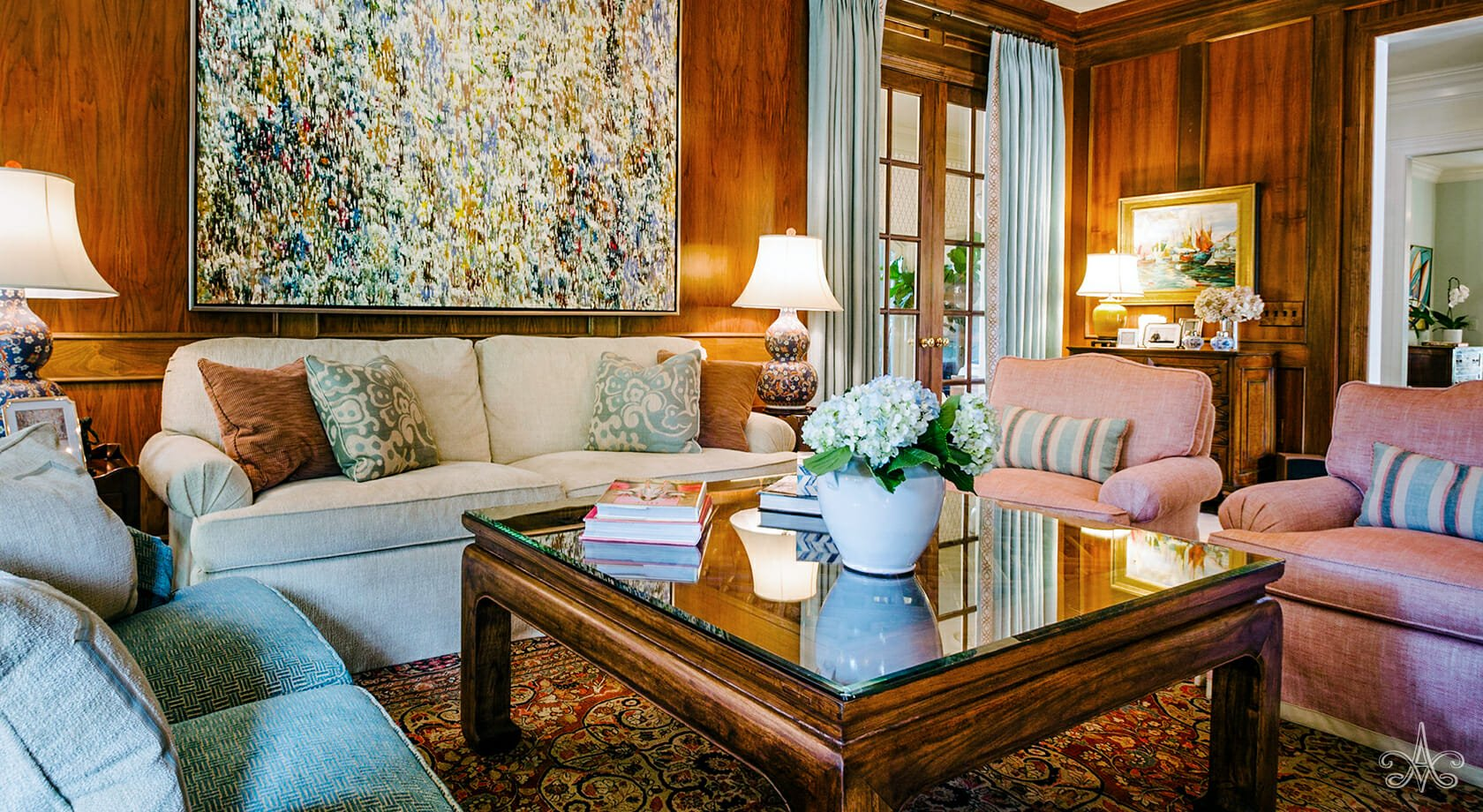 © Alcott Interiors - Carolyn Kendall -- A Collected Interior