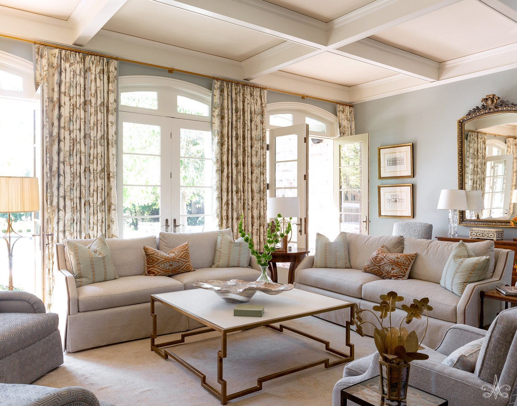 © Alcott Interiors - Carolyn Kendall -- Hill Place Chic