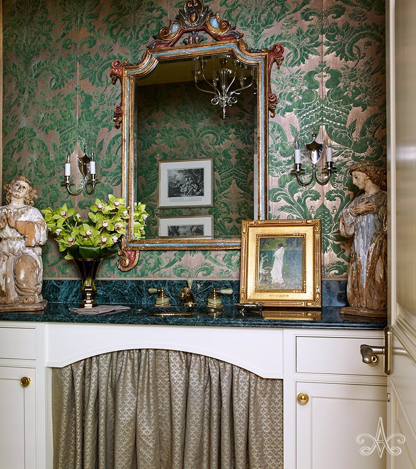 © Alcott Interiors - Carolyn Kendall -- Renewed Luxury
